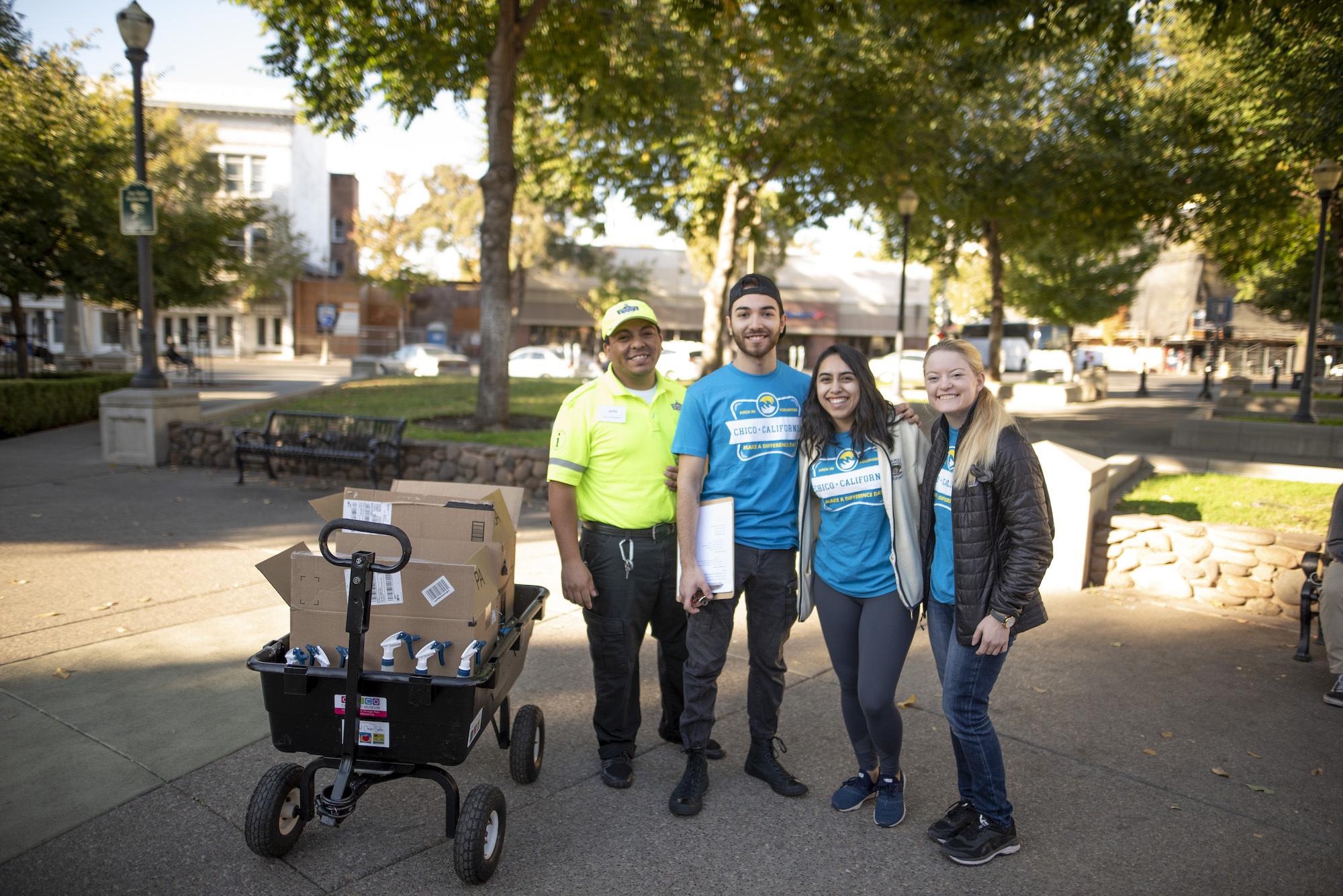 photo of CAVE volunteers