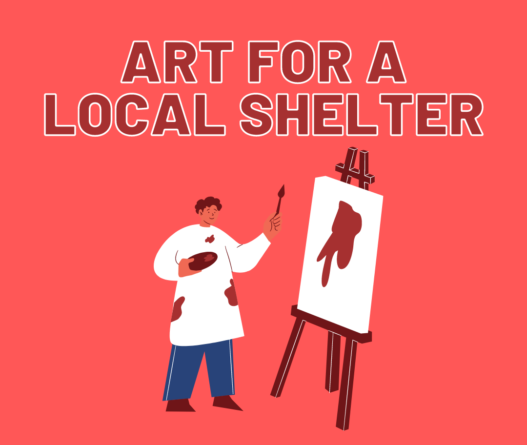 Art for a Local Shelter poster